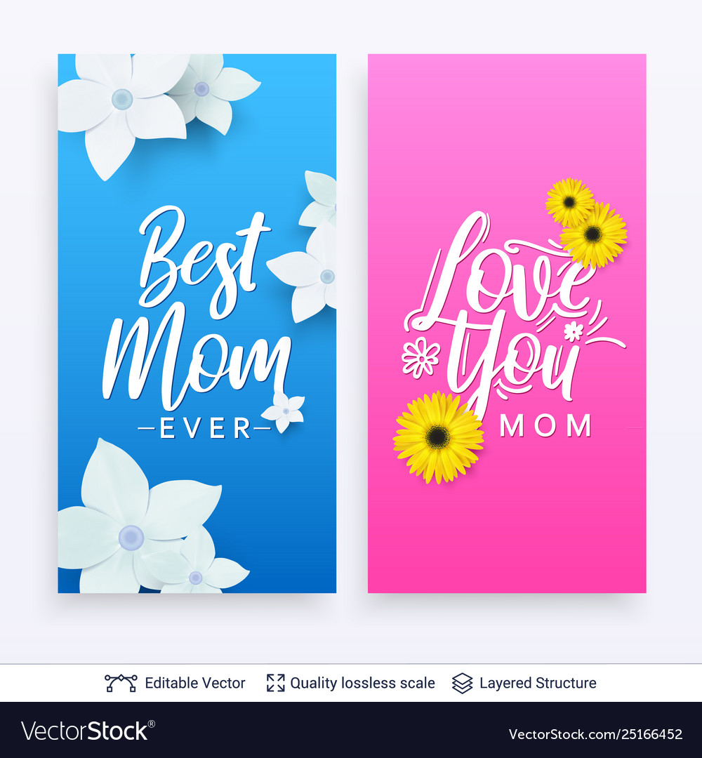 Miraculous Greeting Cards For Mother Day Template Royalty Free Vector Funny Birthday Cards Online Fluifree Goldxyz