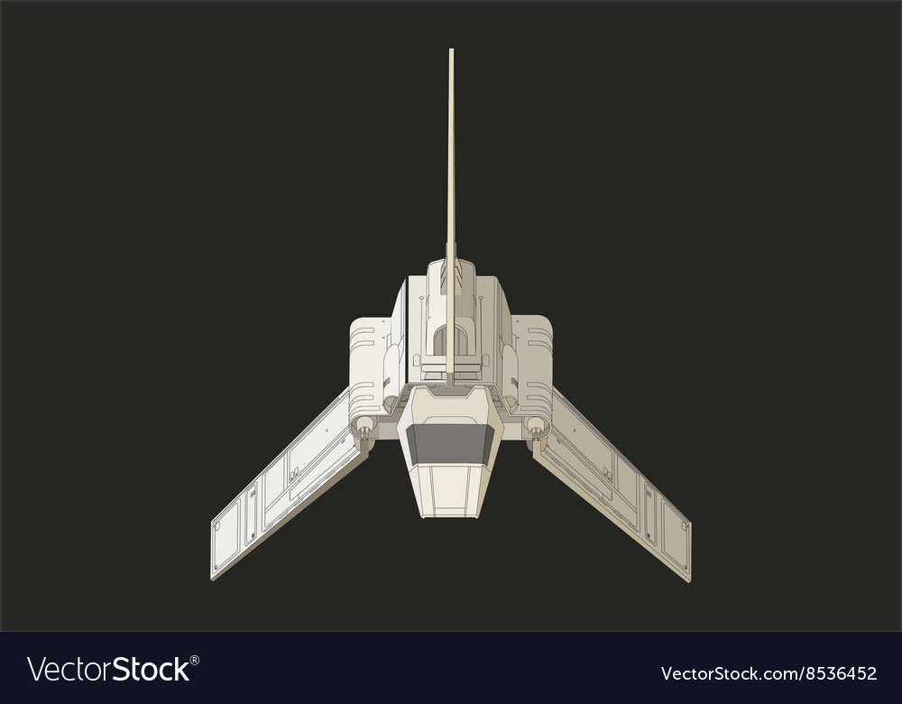spaceship or rocket