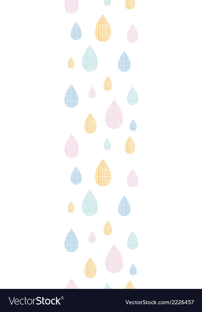 Abstract textile colorful rain drops vertical