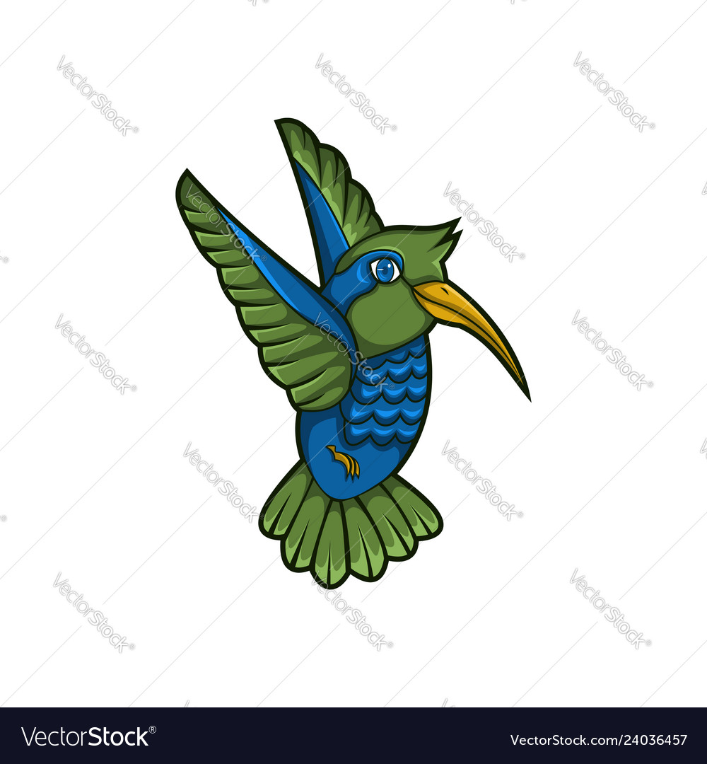 Hummingbird mascot