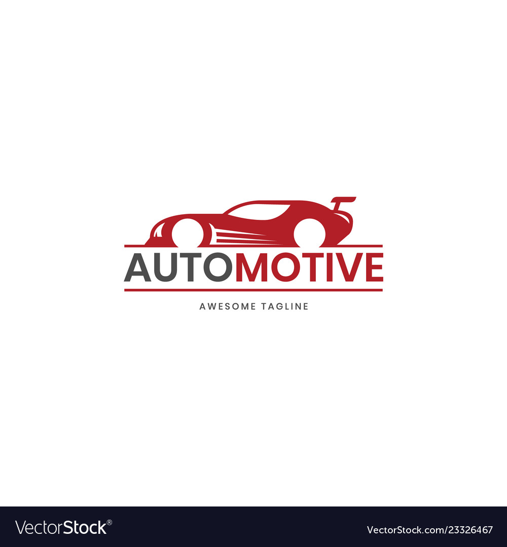 Automotive super car logo design inspiration in
