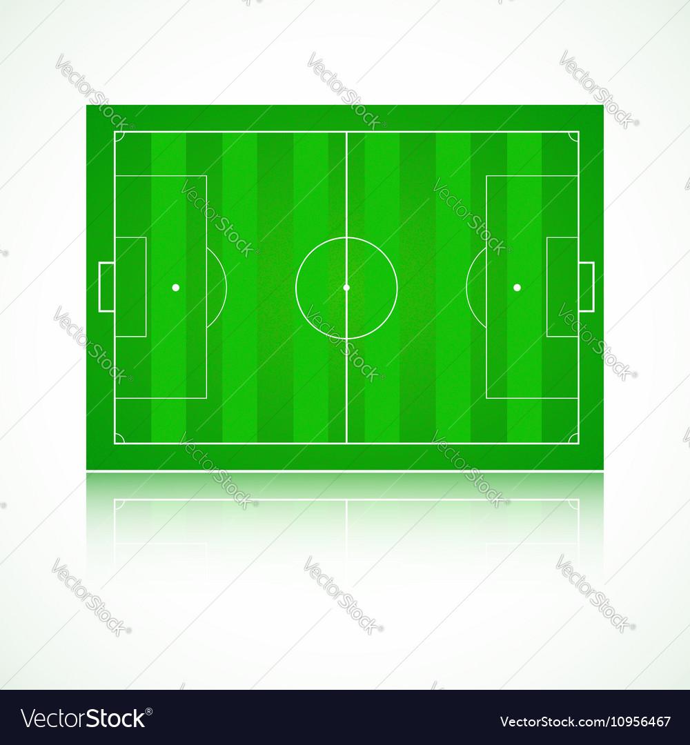 Football soccer realistic textured field