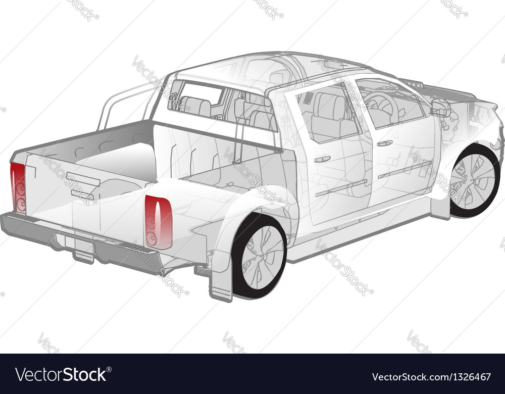 Pickup ifographics cutaway