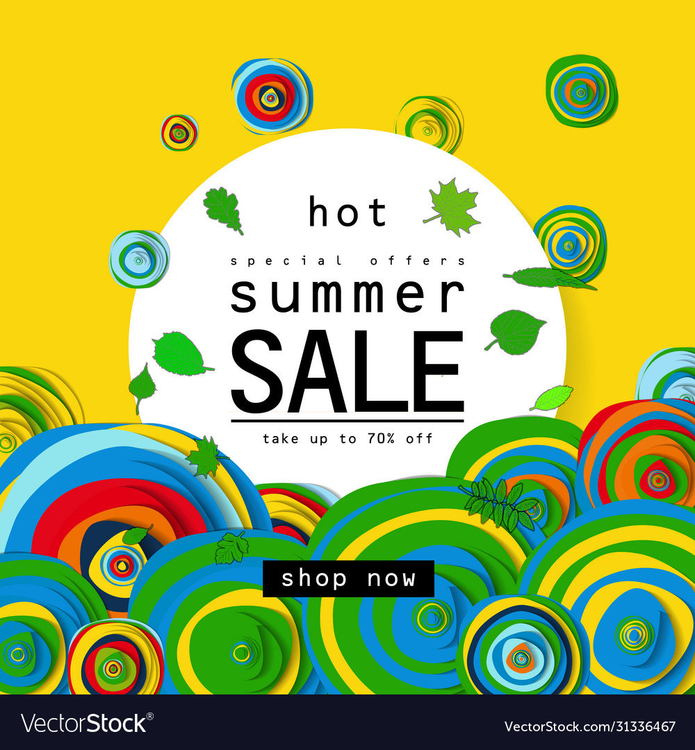Special offer summer sale