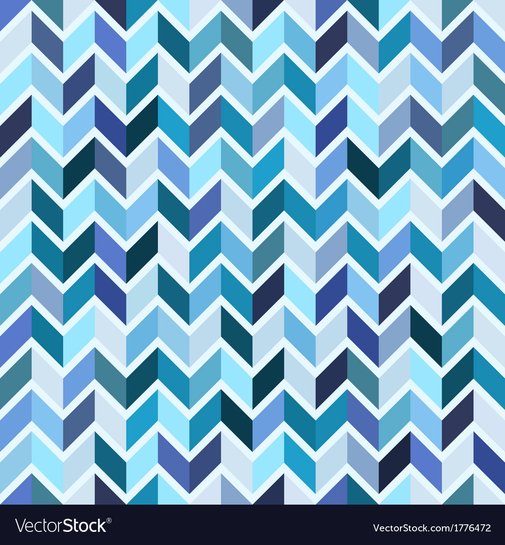 seamless geometric pattern blue mosaic royalty free vector