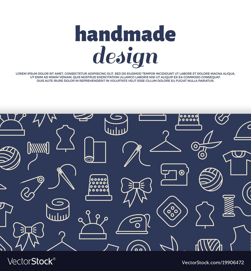 Sewing needlework handwork design