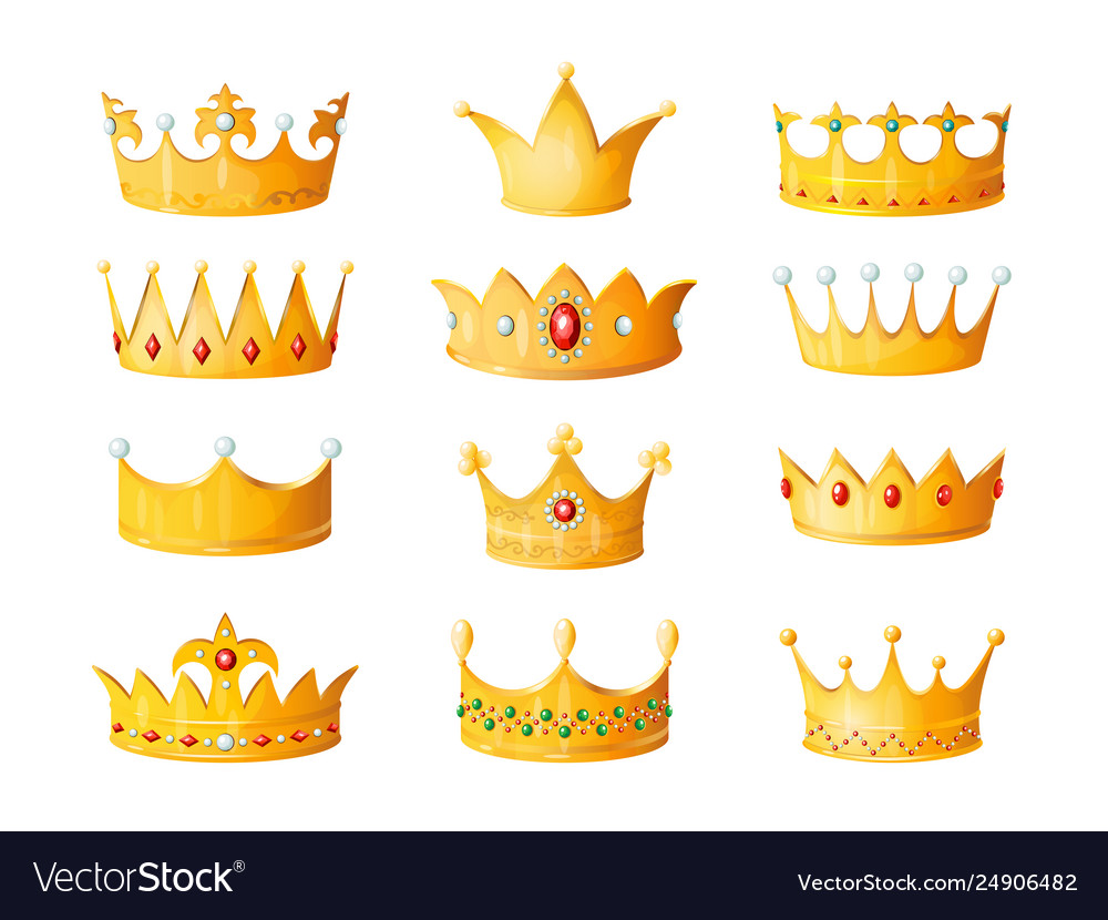 Cartoon Crown Golden Emperor Prince Queen Royal Vector Image Find stockbilleder af cartoon crown golden emperor prince queen i hd og millionvis af andre royaltyfri stockbilleder, illustrationer og vektorer i shutterstocks samling. vectorstock
