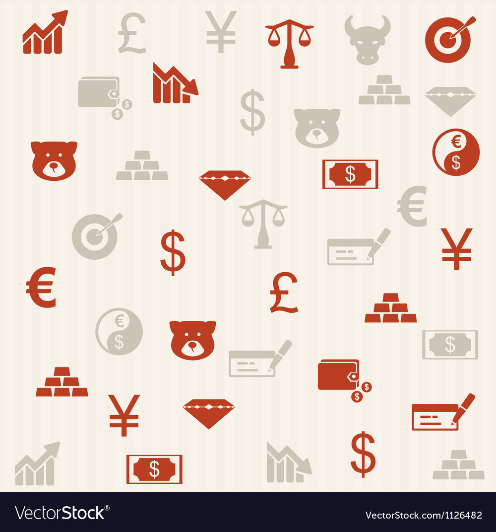 Finance seamless pattern 2