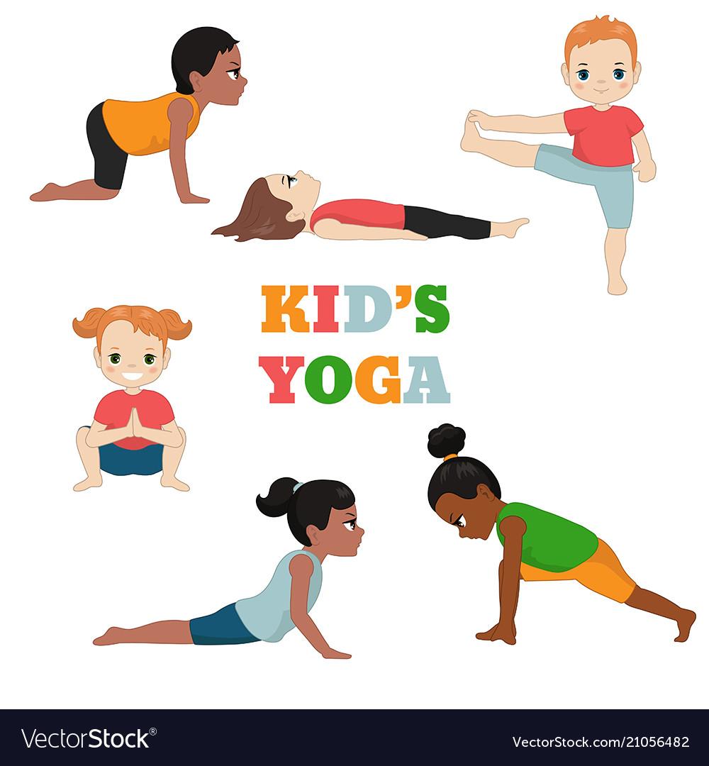 Kids doing yoga kids doing yoga