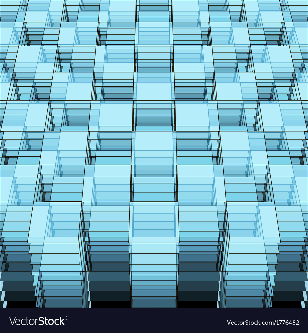 Perspective geometric template
