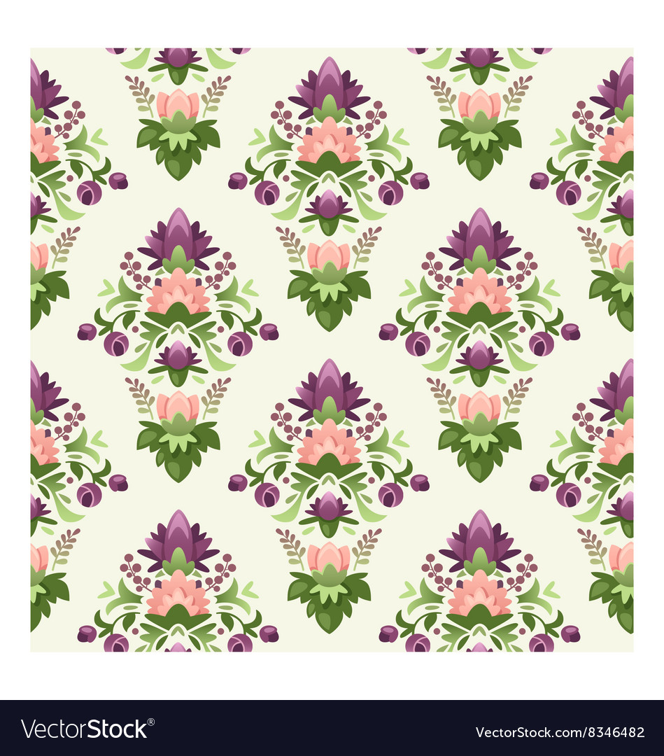 Seamless wrapping paper pattern