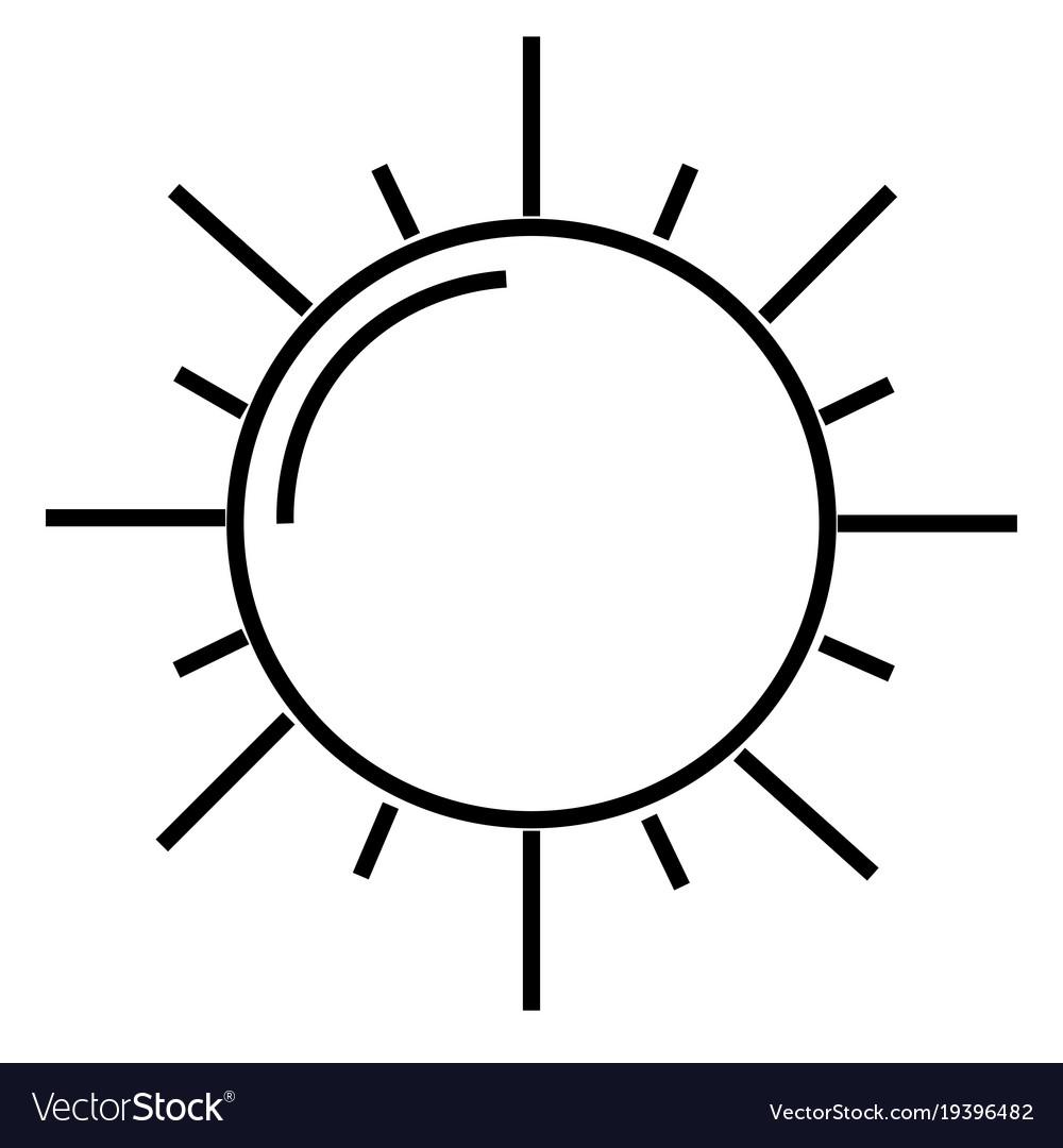 The sun icon