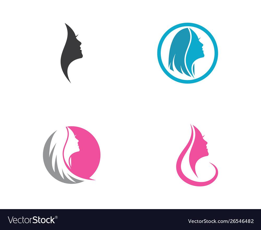 Women face silhouette