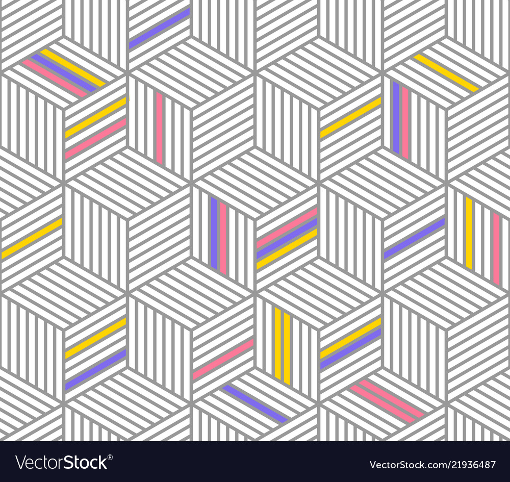 Retro repetitive wallpaper - vintage pattern