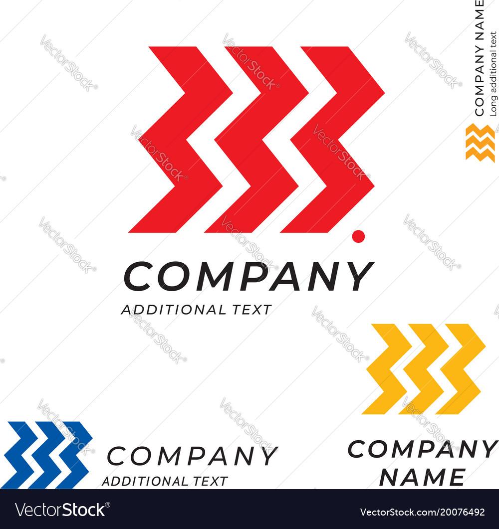 Race tire logo speed emblem shape modern simple vector image