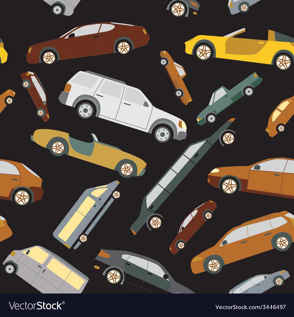 Passenger car background seamless