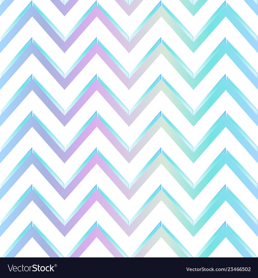 Pastel color zigzag pattern