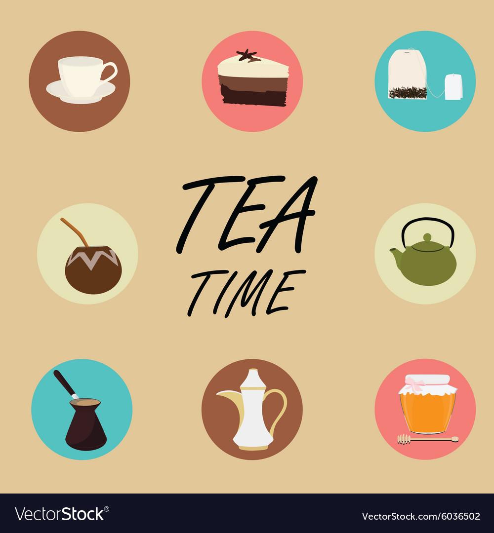 Tea icons