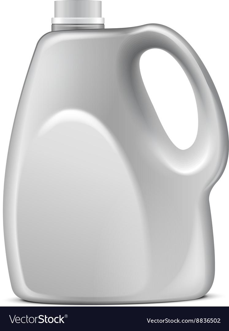 White Plastic Jerrycan Oil Cleanser Detergent