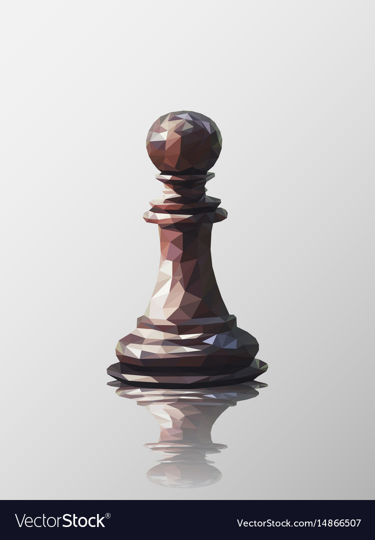 Pawn low poly