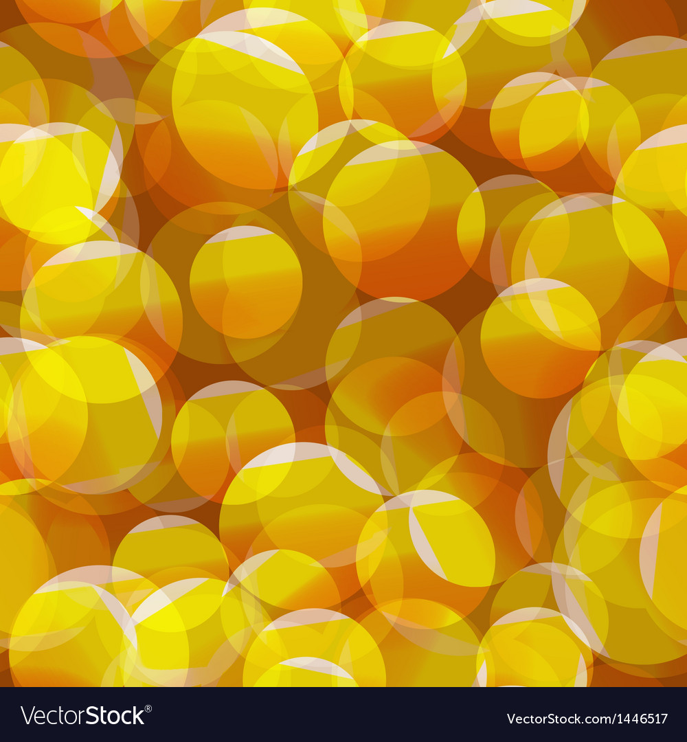 Abstract seamless yellow circle background
