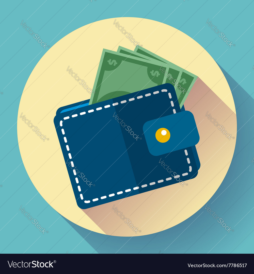 Wallet and Money Icon
