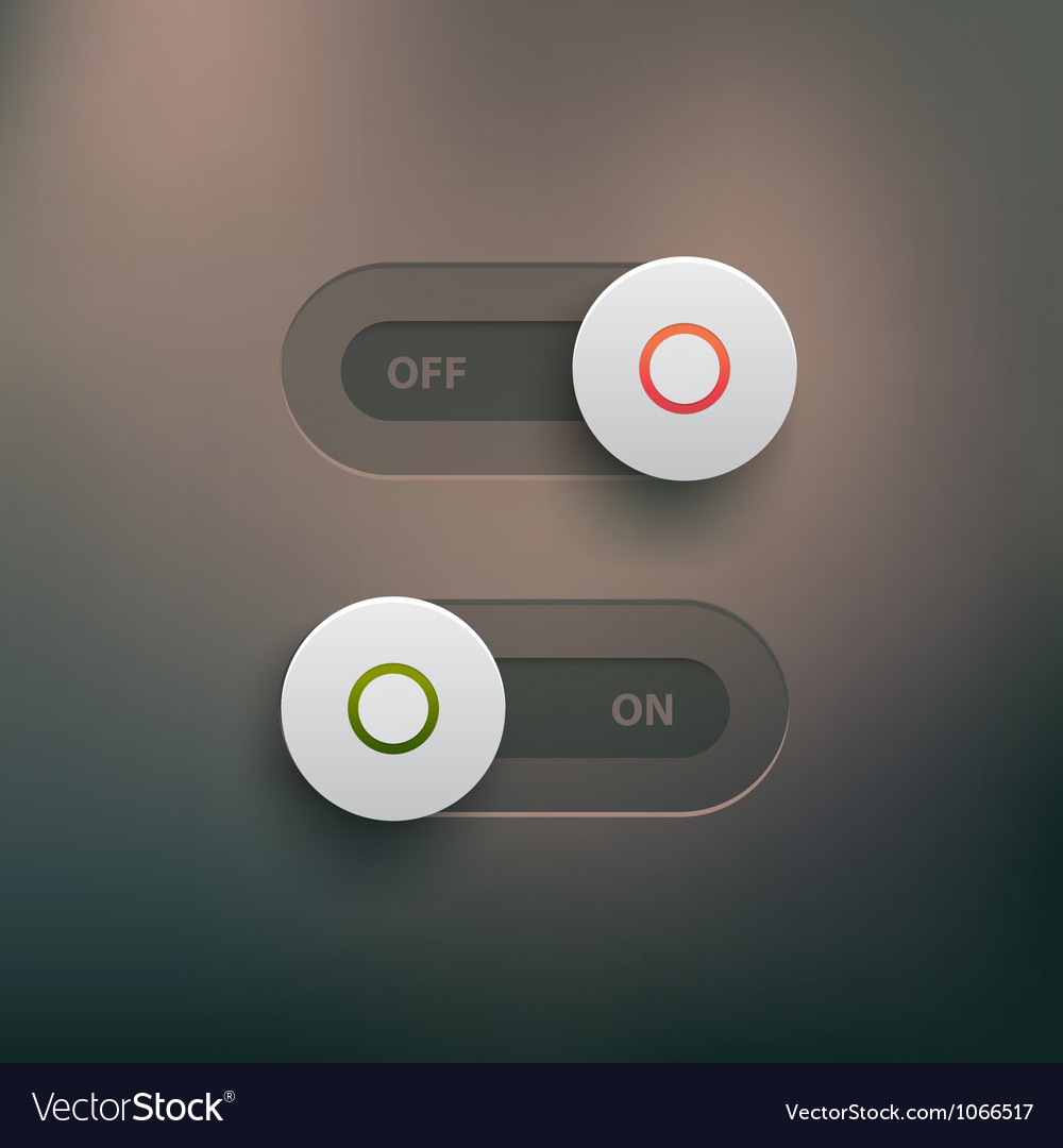 Web switches vector image