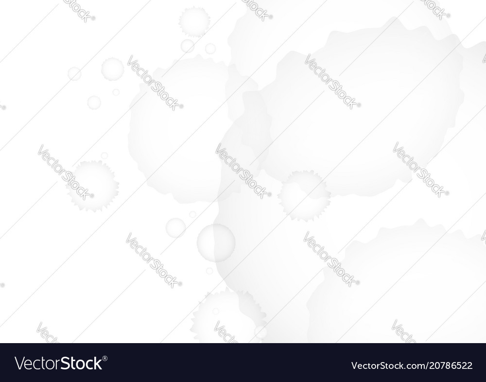 Gray watercolor on white background vector image