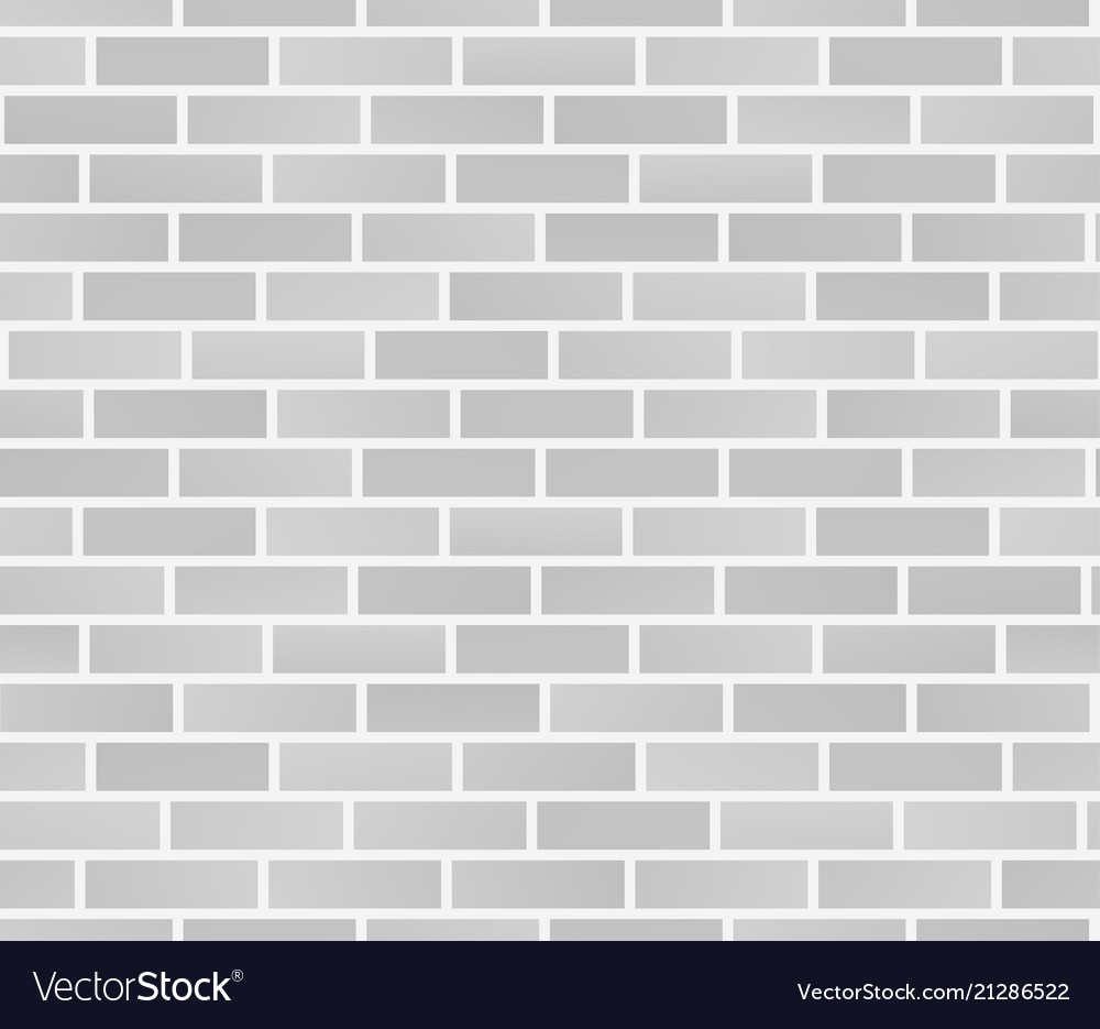 white brick wall texture seamless brick wall vector image. Black Bedroom Furniture Sets. Home Design Ideas