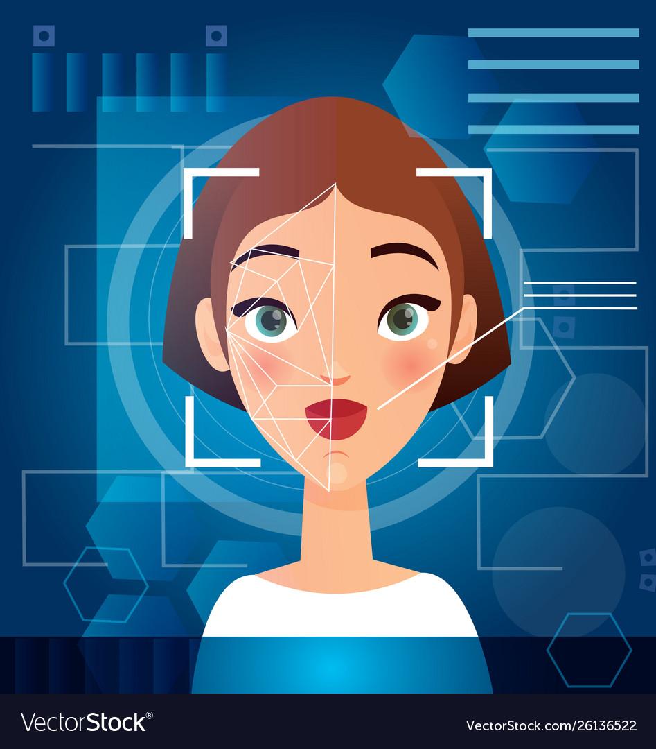 Woman s face recognition