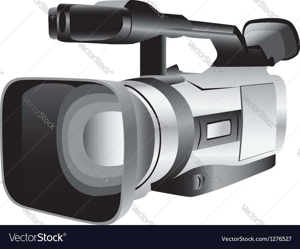 3D of a semi-professional video camera