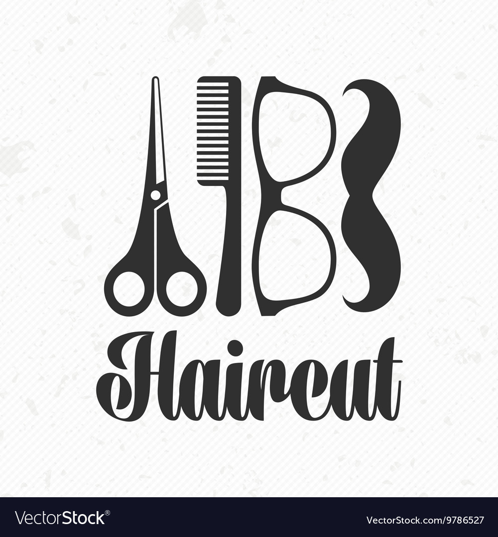Haircut Logo Royalty Free Vector Image Vectorstock