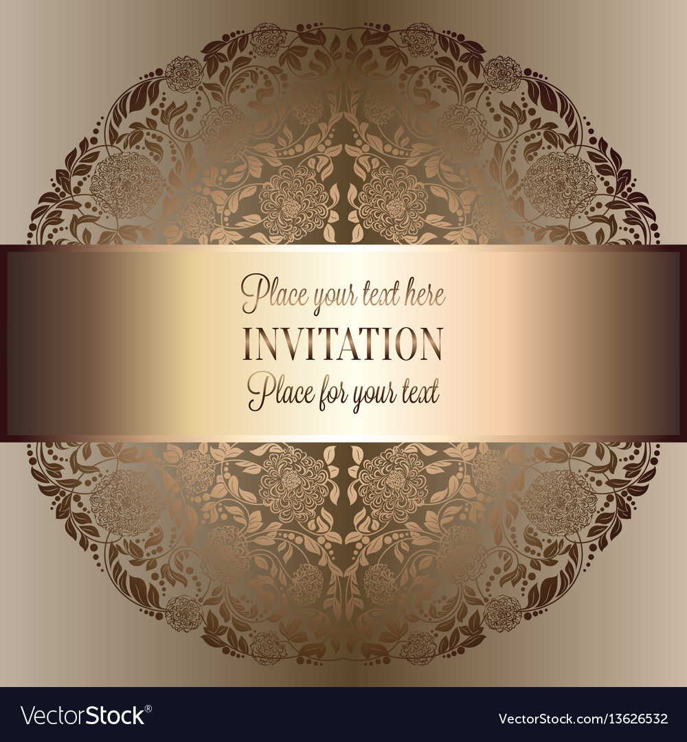 Abstract background luxury beige and gold vintage