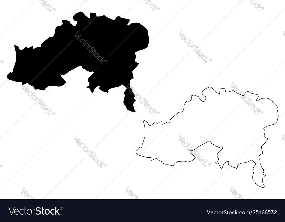 Batna province map