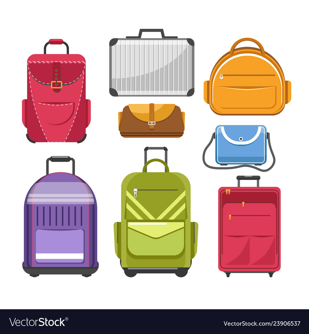 Bags different type models of travel bag
