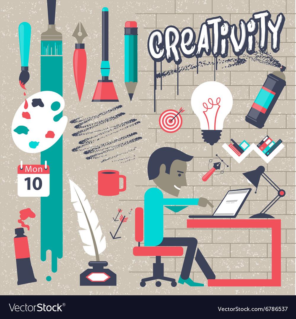 Concepts for big idea and creativity
