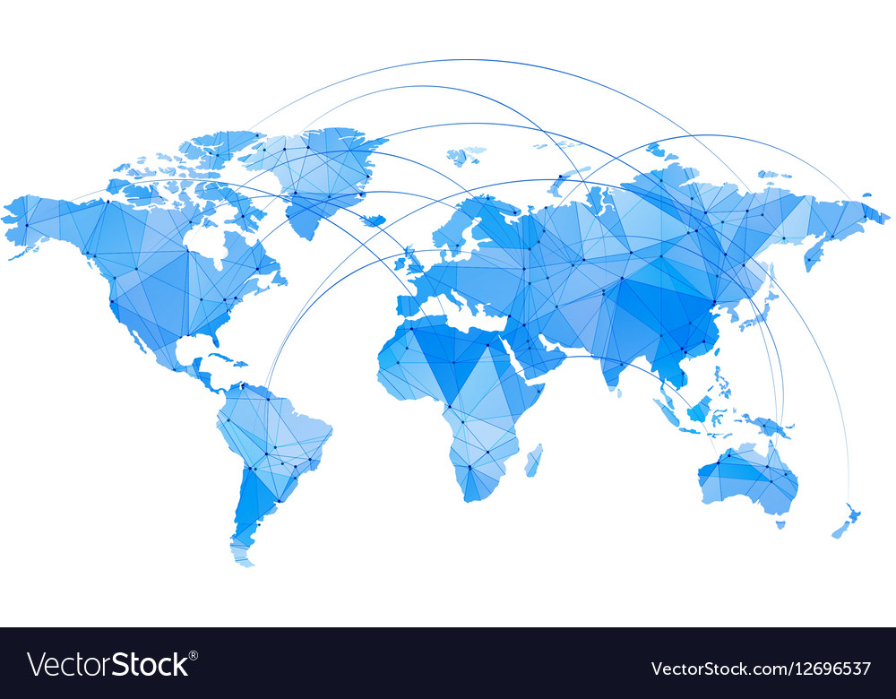 Stylized map of world royalty free vector image stylized map of world vector image gumiabroncs Gallery