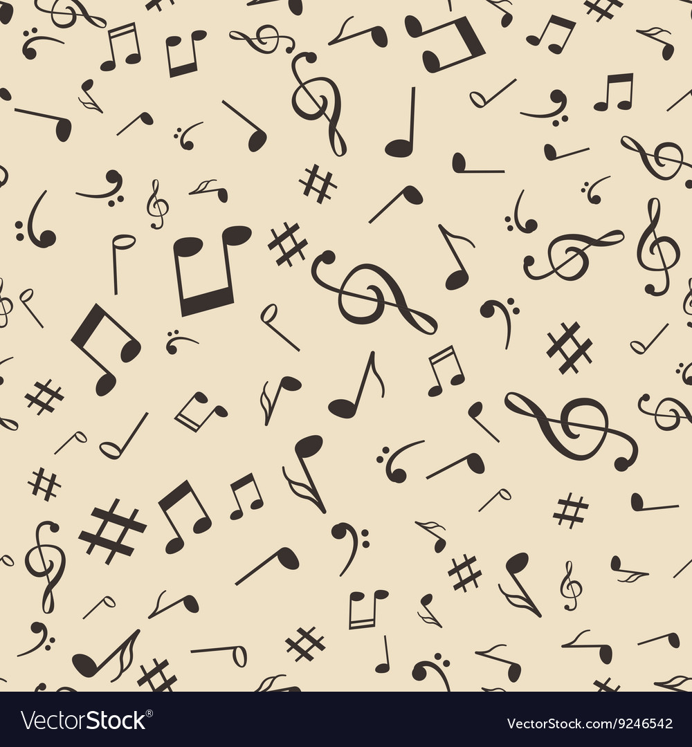 Music Note Pattern Magnificent Decorating Design
