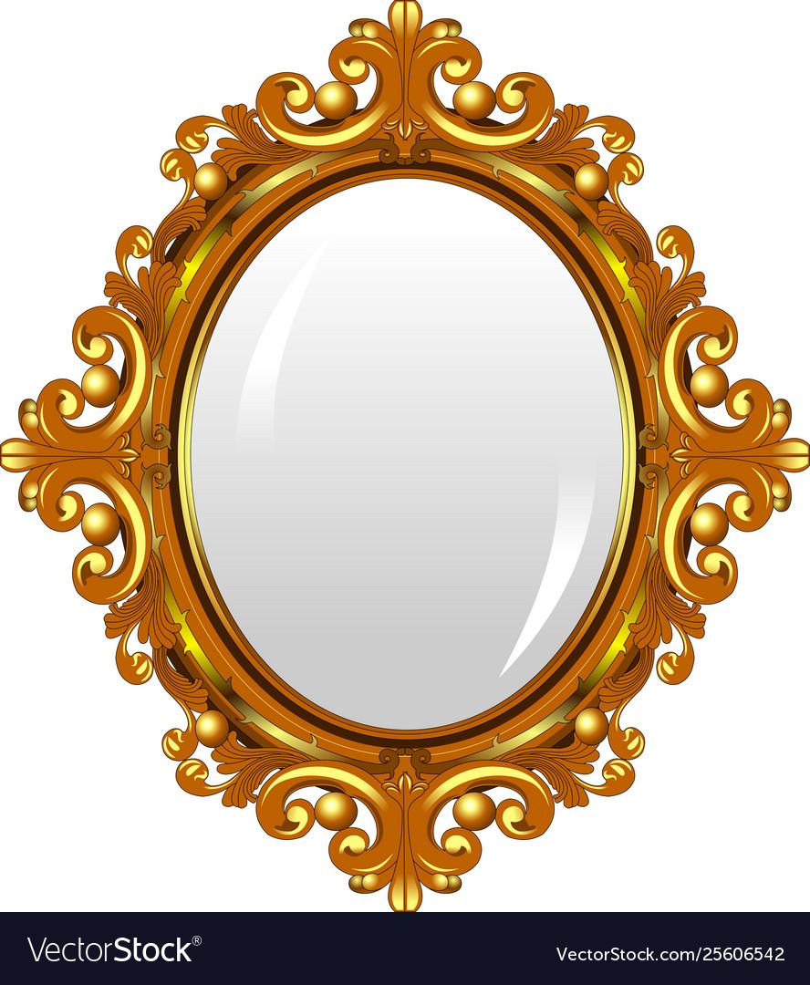 Mirror Royalty Free Vector Image Vectorstock
