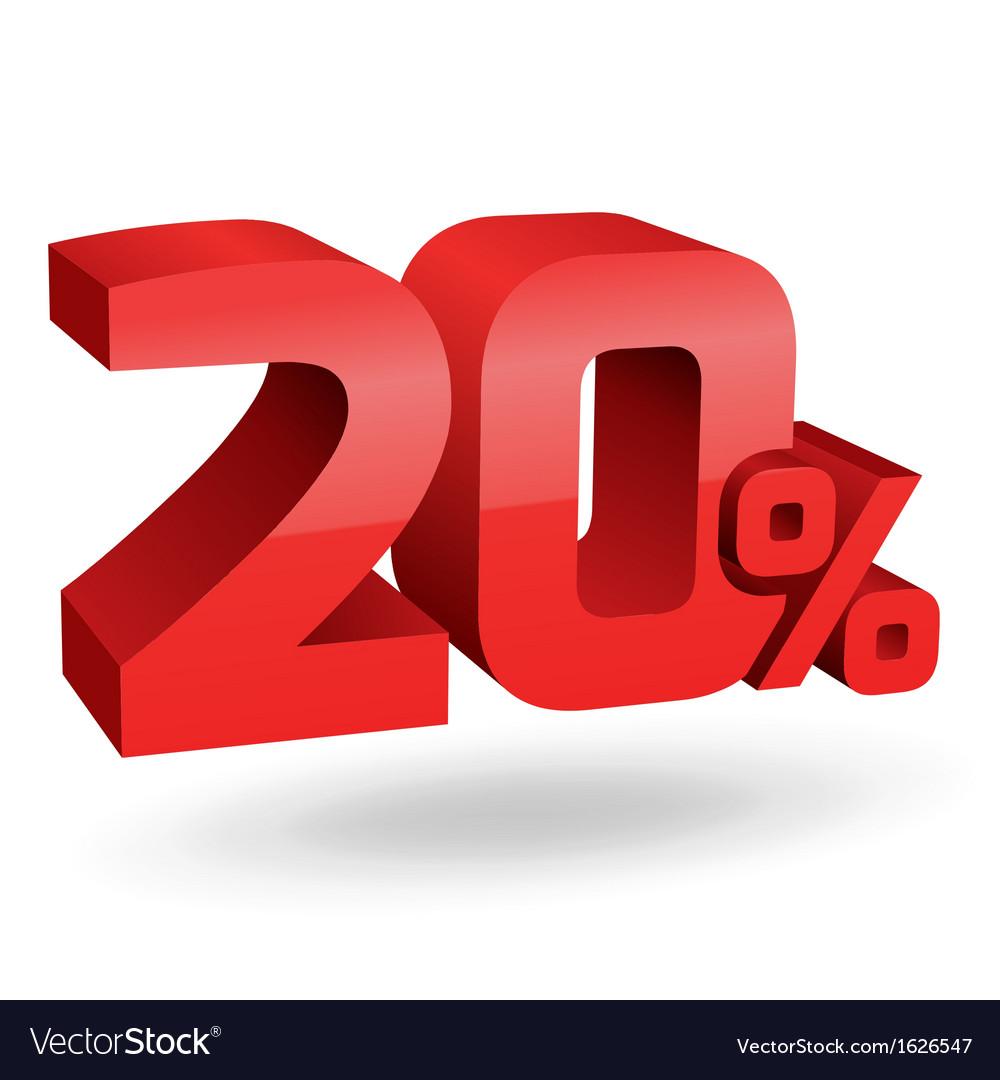 20 percent digits