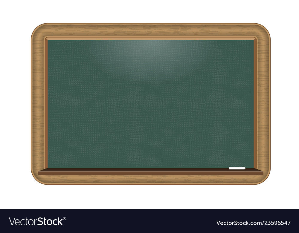 Green chalkboard with nice