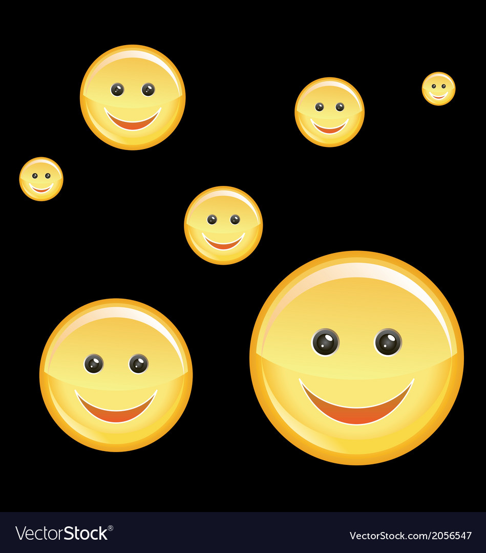 Happy Smiley vector image
