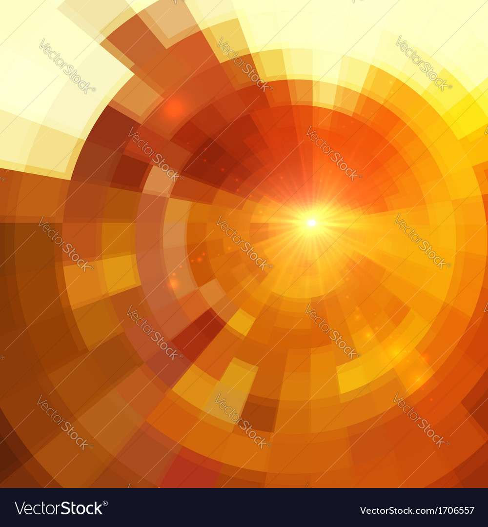 Abstract beige circle tiled background vector image