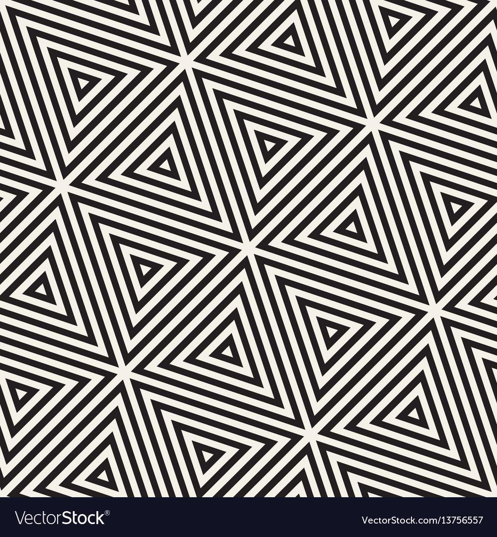 Stylish minimalistic triangle shape lines grid