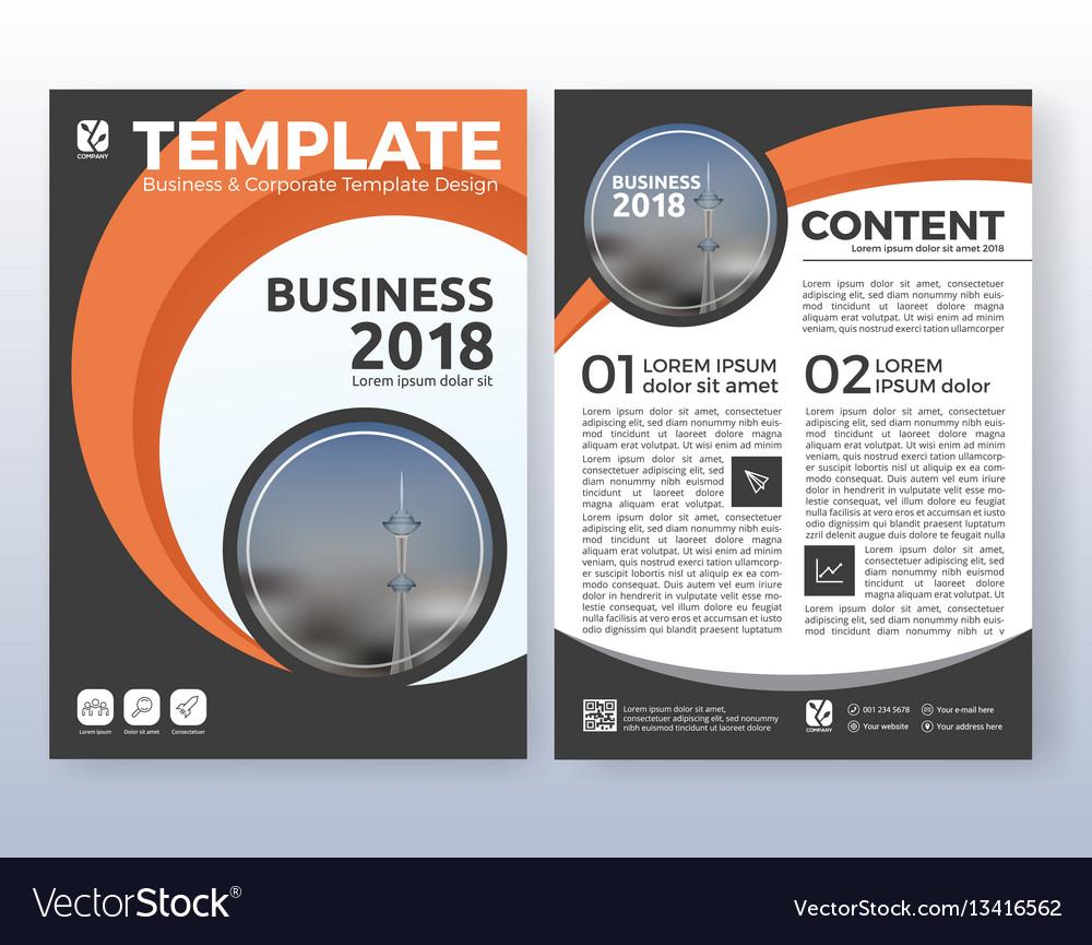 Multipurpose corporate business flyer design vector image