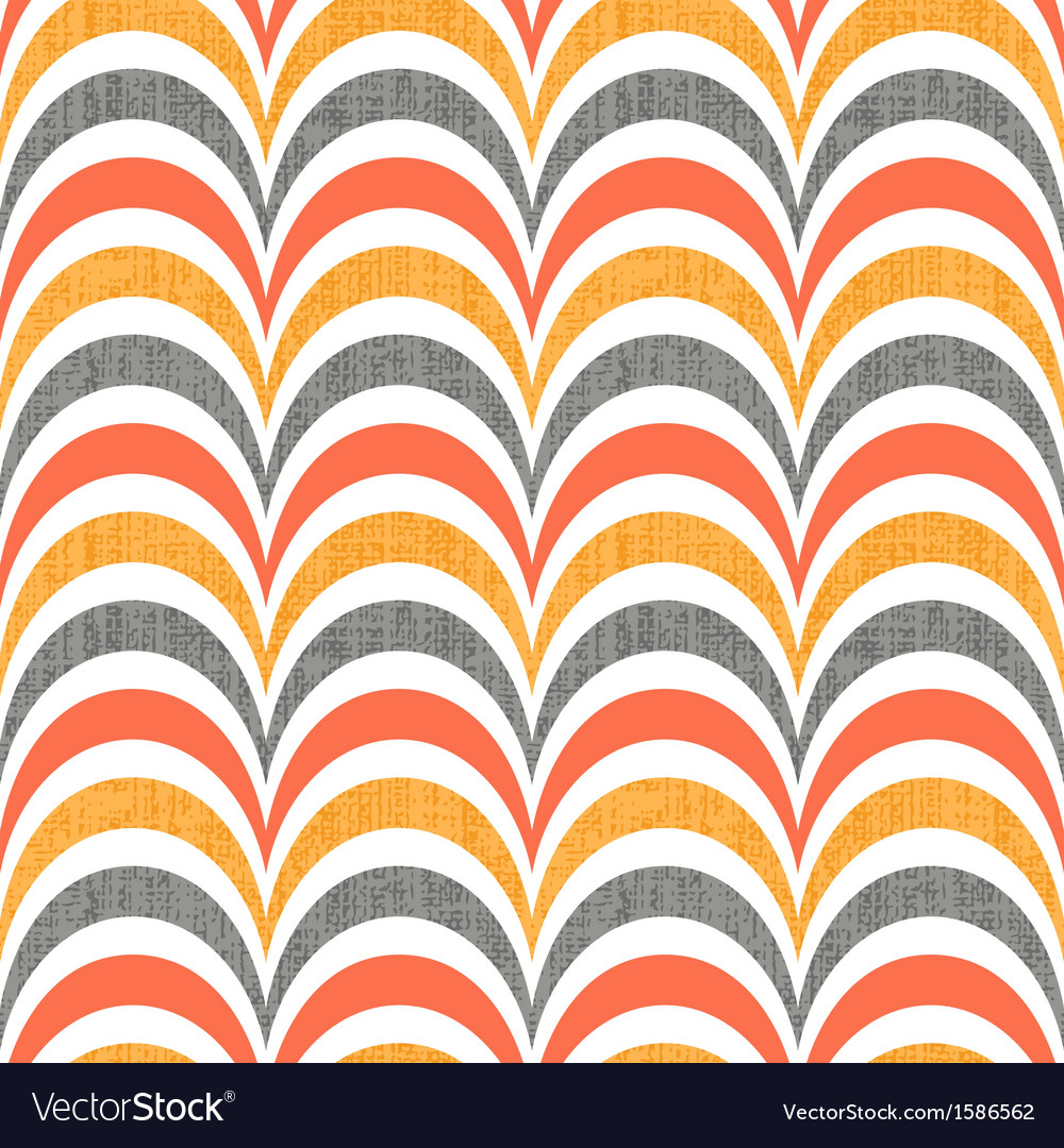 Seamless abstract wave pattern vector image