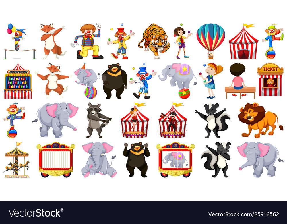 Set circus element