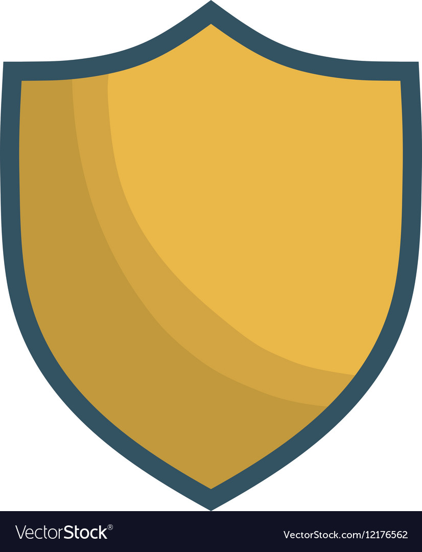 Shield emblem icon image