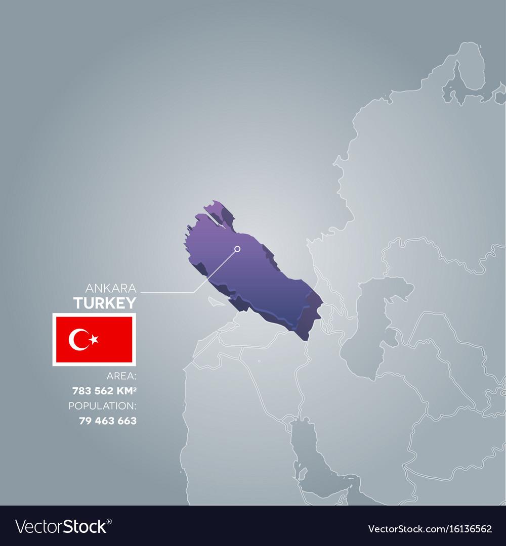 Turkey information map