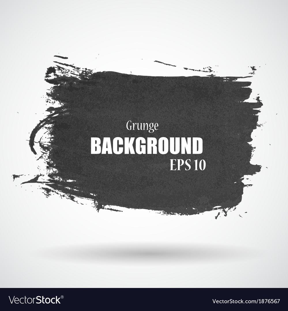 Abstract Grunge Splash Banner EPS10 vector image